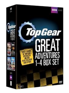 Top Gear [4 DVD] Adventures Box Set /Wyprawy/