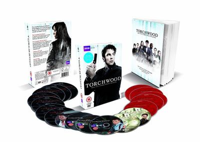 Torchwood [16 DVD] Sezony 1-4 /Spin-off Doctor Who/