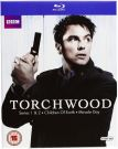 Torchwood [16 Blu-ray] Sezony 1-4 /Spin-off Doctor Who/