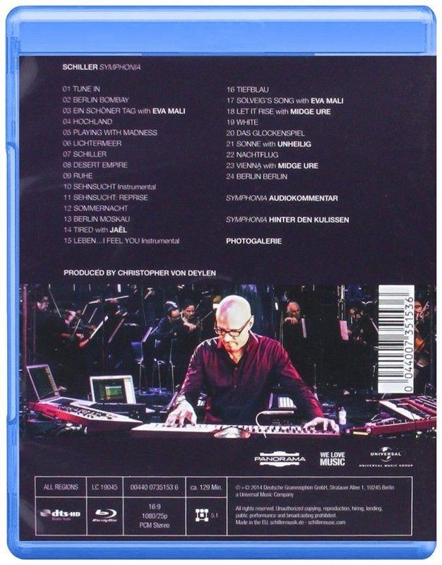 Schiller Dvd