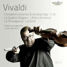 Antonio Vivaldi: Complete Concertos and Sonatas Opp. 1-12 [20 CD]