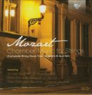Wolfgang Amadeus Mozart: Chamber music for strings [12 CD]
