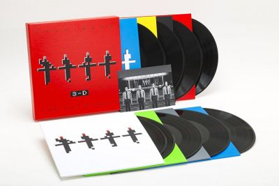 Kraftwerk [8 Vinyl LP] 3-D The Catalogue