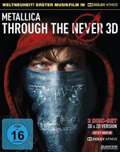 Metallica [2 Blu-ray 3D + 2D] Through the Never /Dolby Atmos/