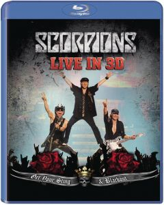 Scorpions [Blu-ray 3D + 2D] Get Your Sting And Blackout