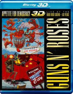 Guns N' Roses [Blu-ray 3D + 2D] Appetite For Democrazy