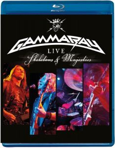 Gamma Ray [Blu-ray] Skeletons and  Majesties: Live