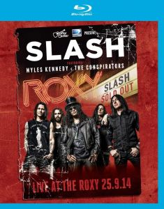Slash feat. Myles Kennedy and The Conspirators [Blu-ray] Live At The Roxy 25.9.1