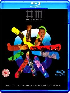 Depeche Mode [2 Blu-ray] Tour Of The Universe: Barcelona