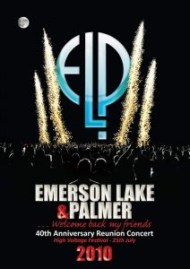 Emerson Lake and Palmer [Blu-ray] 40th Anniversary Reunion Concert