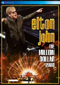 Elton John [DVD] The Million Dollar Piano