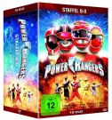 Power Rangers [19 DVD] Sezony 8-11 /Lightspeed Rescue, Time Force, Wild Force, Ninja Storm/