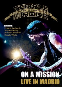 Michael Schenker's Temple of Rock [Blu-ray] On A Mission