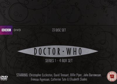 Doktor Who [23 DVD] Sezony 1-4