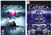 Caprica [7 DVD] Sezony 1-1.5 /Battlestar Galactica spin-off/