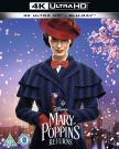Mary Poppins Powraca [4K Ultra HD Blu-ray + Blu-ray]