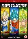 Dragon Ball Z / Super: Filmy [3 DVD] Battle of Gods | Resurrection 'F' | Broly