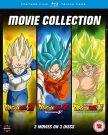 Dragon Ball Z / Super: Filmy [3 Blu-ray] Battle of Gods | Resurrection 'F' | Broly