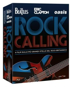 Rock Calling ‎[4 Blu-ray] The Beatles | Oasis | Eric Clapton