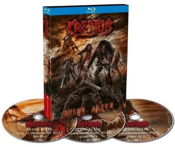 Kreator [Blu-ray + 2 CD] Dying Alive
